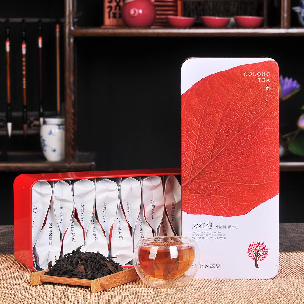 【滋恩】香韵大红袍精品系列铁盒装112g1_0