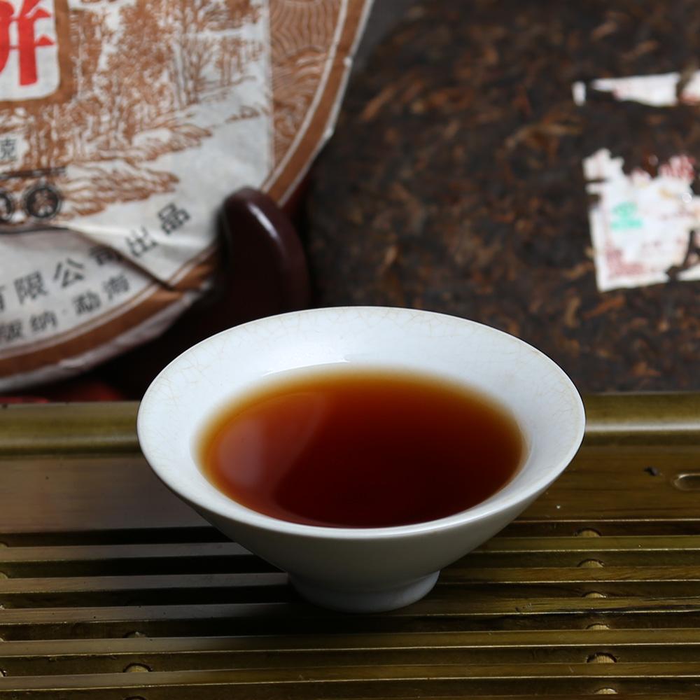 【一品堂】特级熟饼357g普洱熟茶(11年)1_2