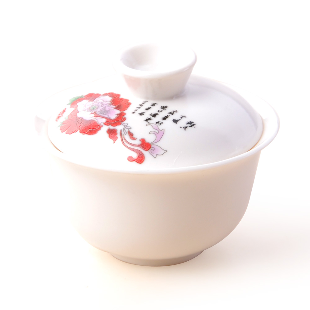 【宏遠達】德化花開富貴 12件牡丹茶具套組2_1