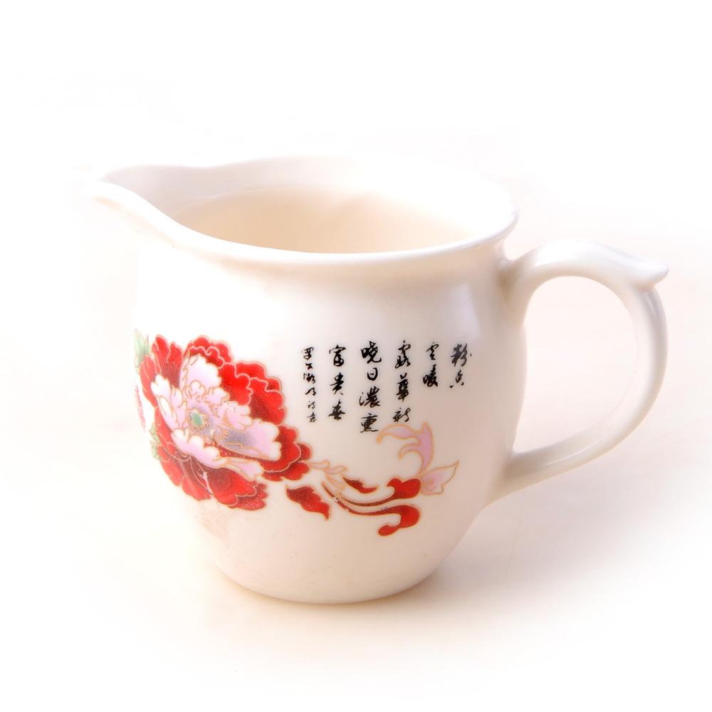 【宏遠達】德化花開富貴 12件牡丹茶具套組3_2
