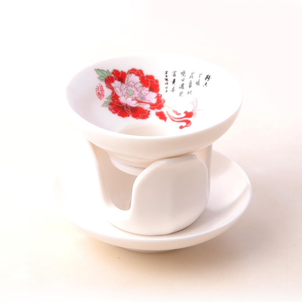 【宏遠達】德化花開富貴 12件牡丹茶具套組4_3