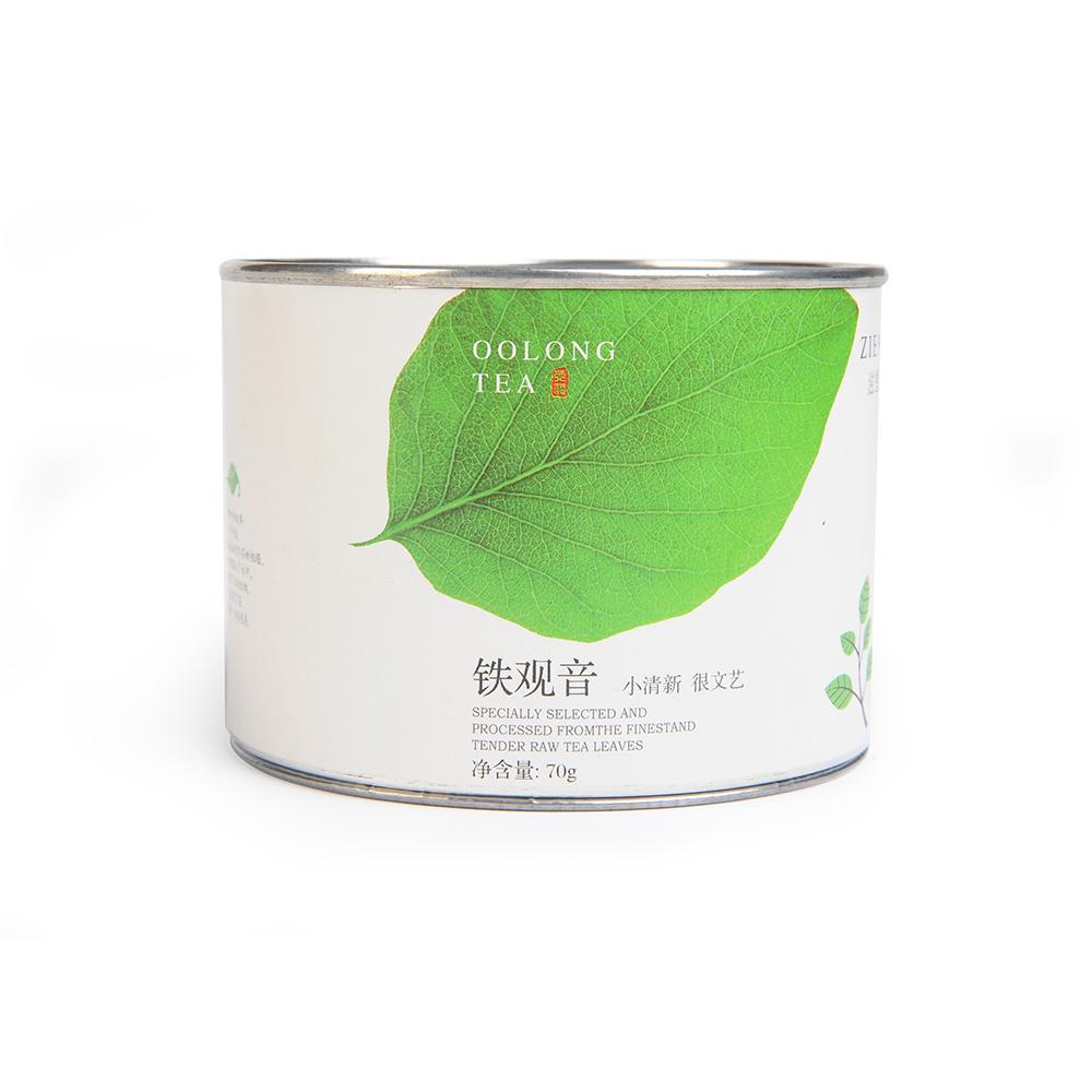 【滋恩】清和特级清香铁观音圆罐装70g*22_1