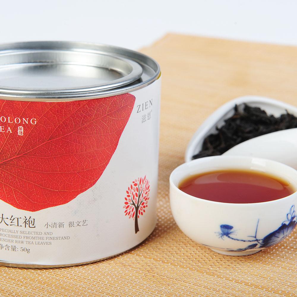 【滋恩】福建三大茗茶金骏眉-大红袍-铁观音170g4_3