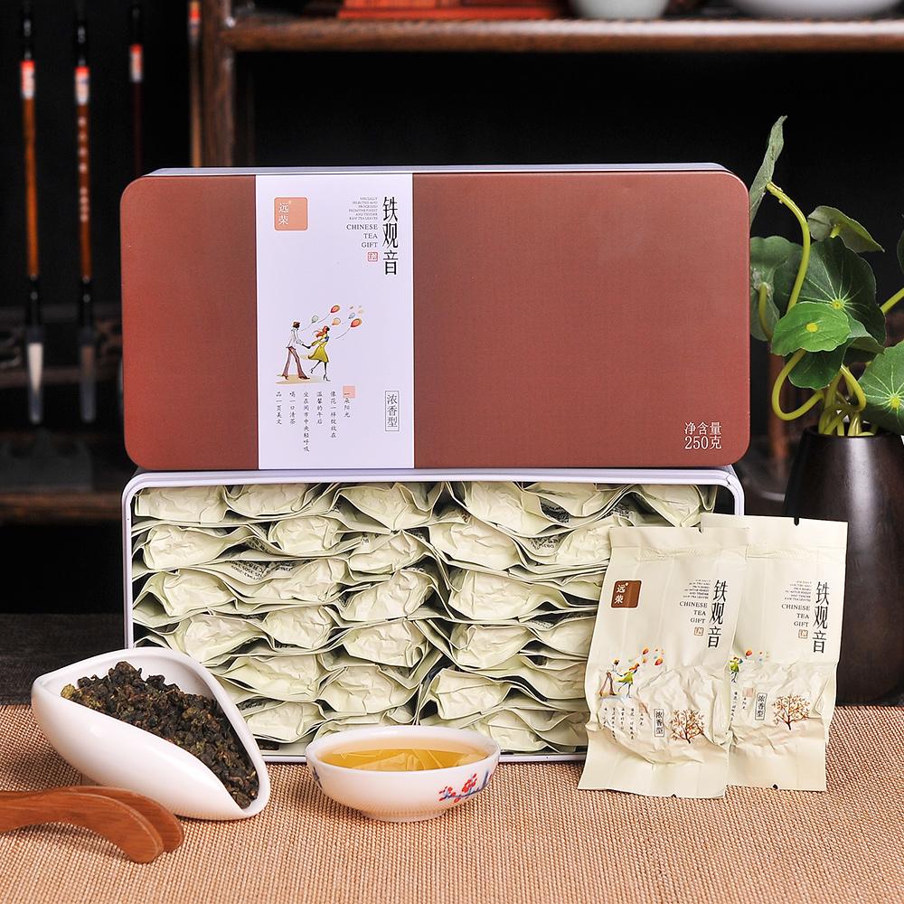 【远荣】特级醇真碳焙铁观音礼罐装250g(新包装)1_0