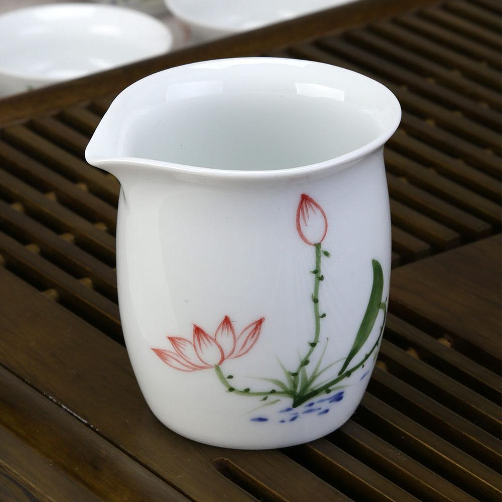 【德化白瓷】高白手绘五彩茶具组礼盒(壶)2_2