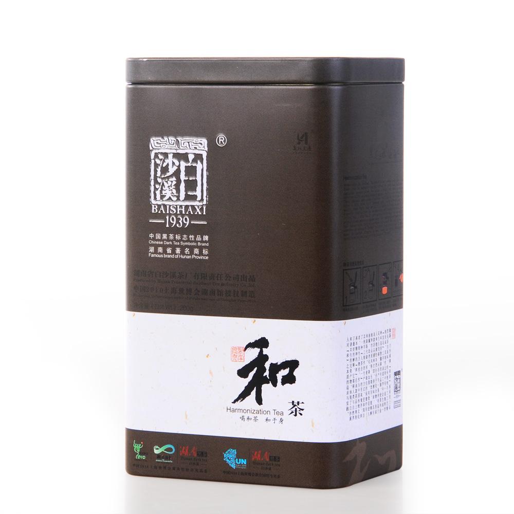 【白沙溪】2011年和茶铁盒200g1_0