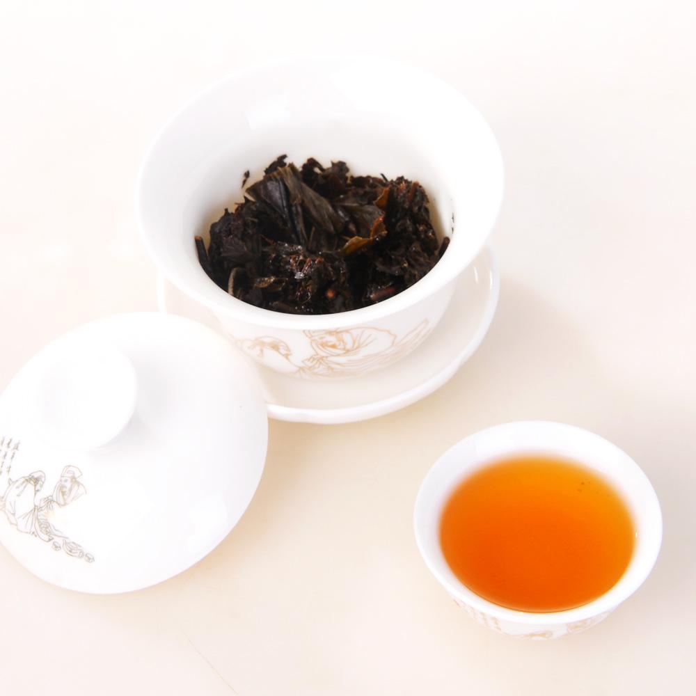 【白沙溪】2011年和茶铁盒200g1_2