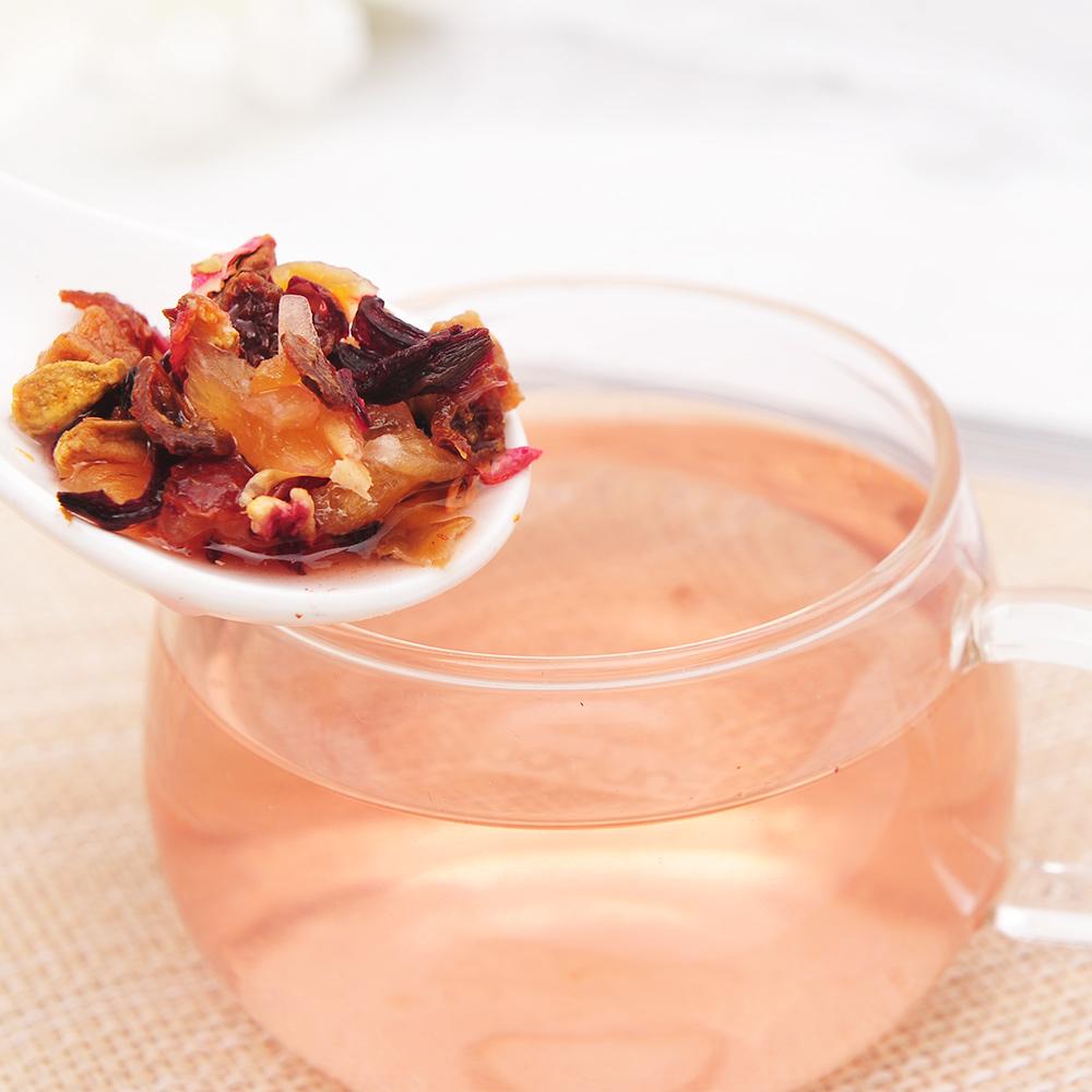 【萃華香】粉紅搖滾(Pink Rock)玫瑰水果茶盒装70g5_4