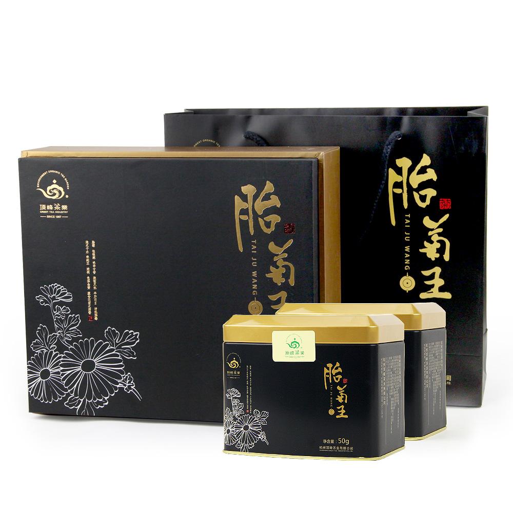 【顶峰】特级桐乡胎菊王礼盒200g1_0