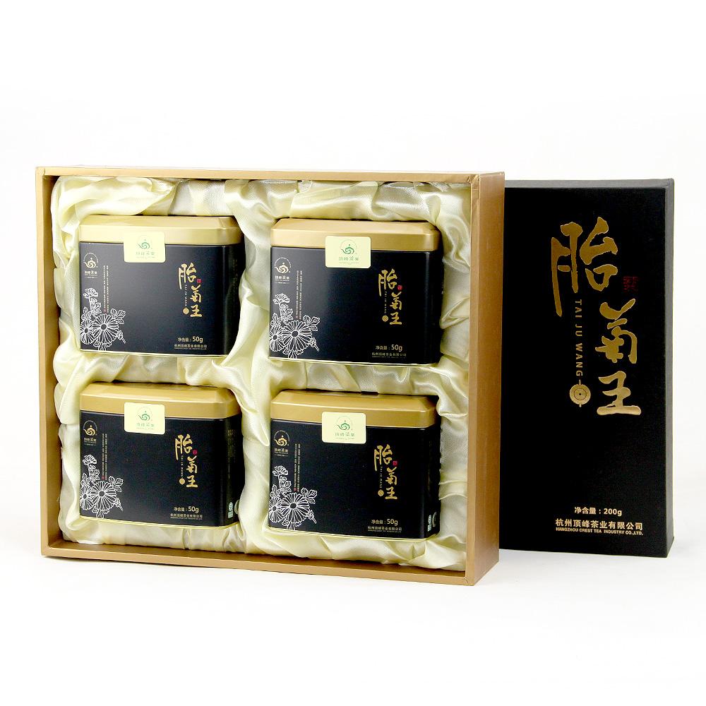 【顶峰】特级桐乡胎菊王礼盒200g2_1