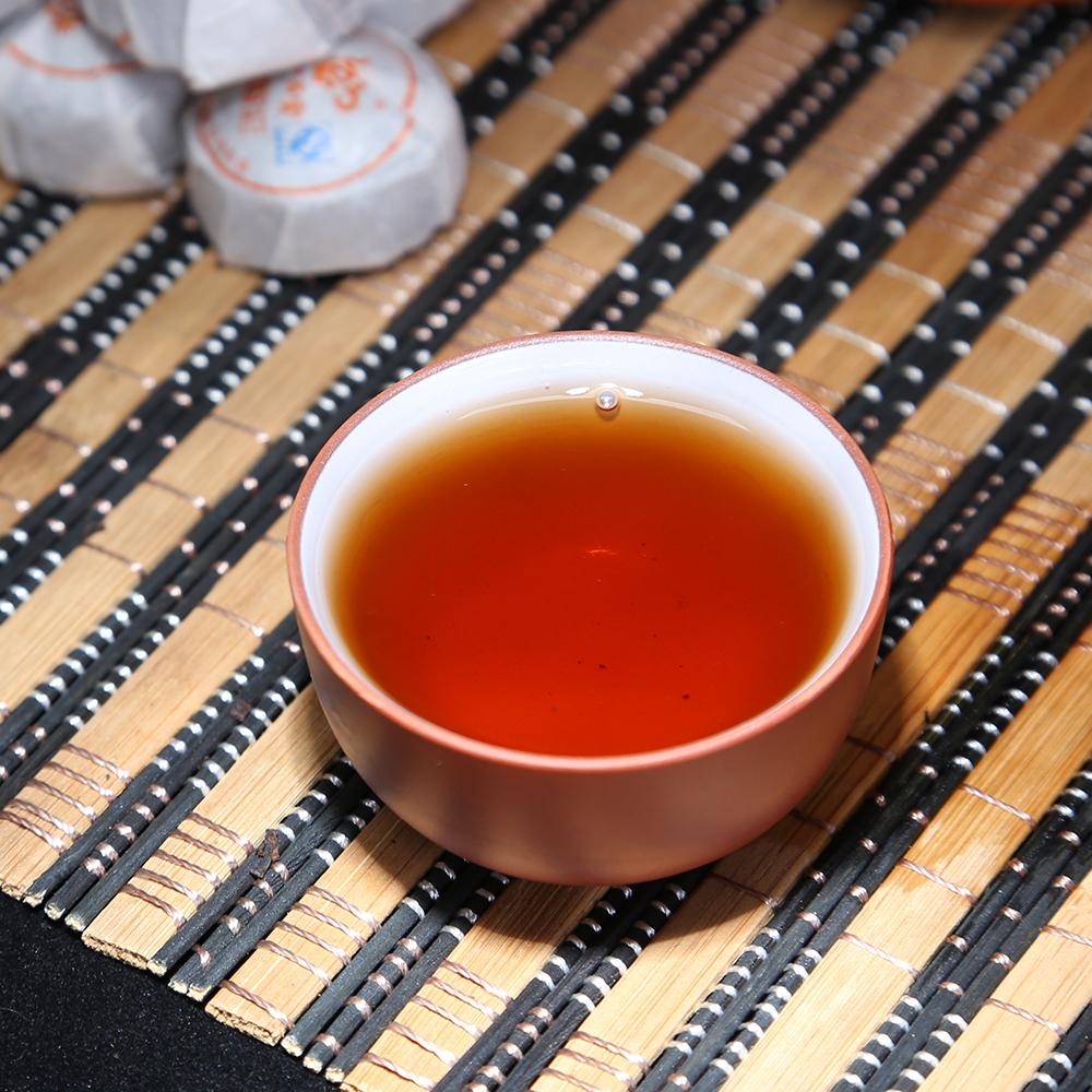 【一品堂】原味小沱普洱熟茶布袋装150g*31_3