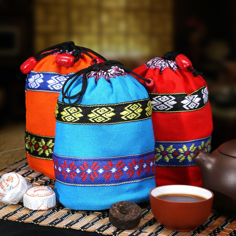 【一品堂】原味小沱普洱熟茶布袋装150g*31_1