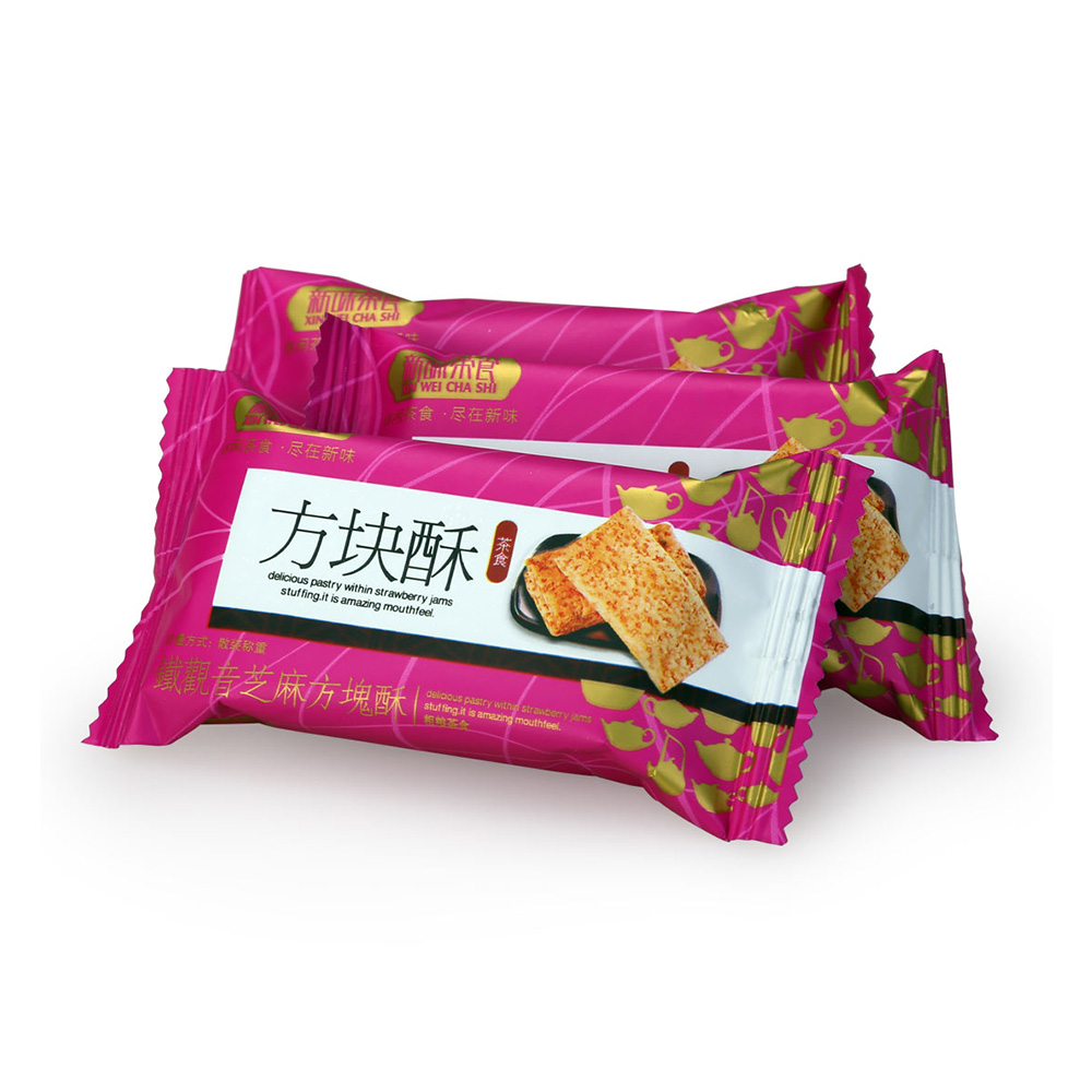 【新味】铁观音茶香芝麻方块酥盒装168g3_2