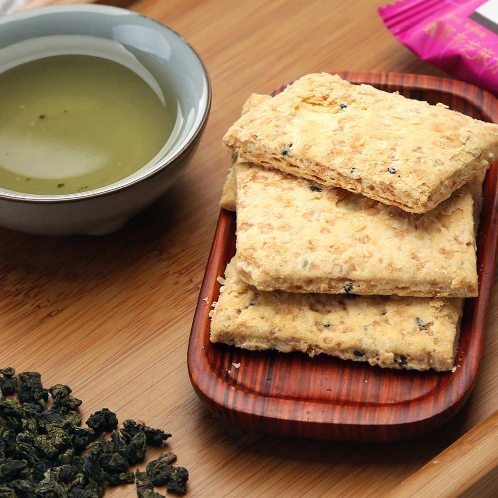 【新味】铁观音茶香芝麻方块酥盒装168g4_3
