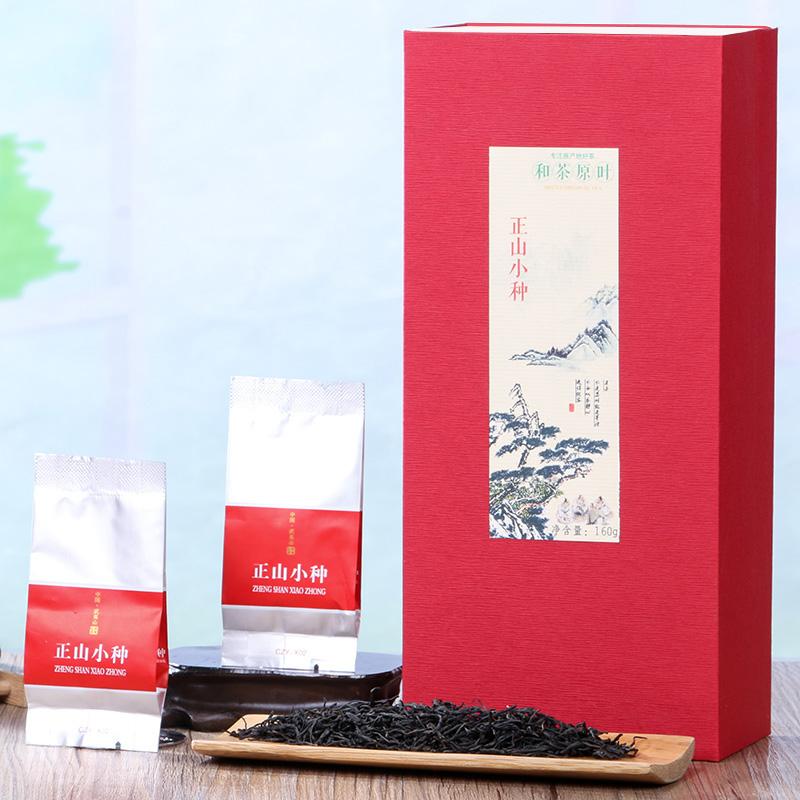 【和茶原叶】雅致武夷正山小种礼盒装160g2_1