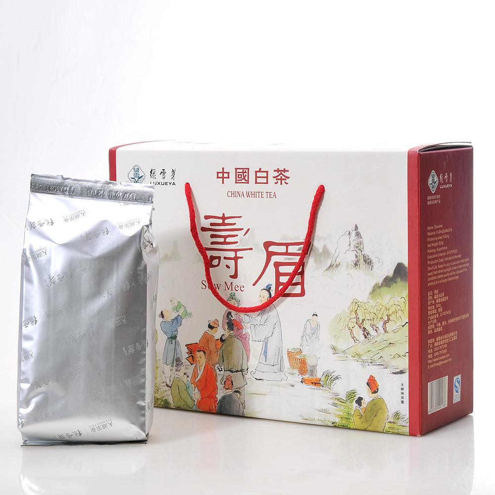 【绿雪芽】特级寿眉白茶礼盒500g1_0
