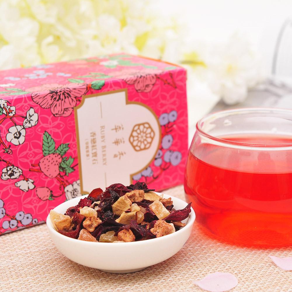【萃華香】香戀紅寶石(Ruby Berry)草莓果茶盒装70g4_3