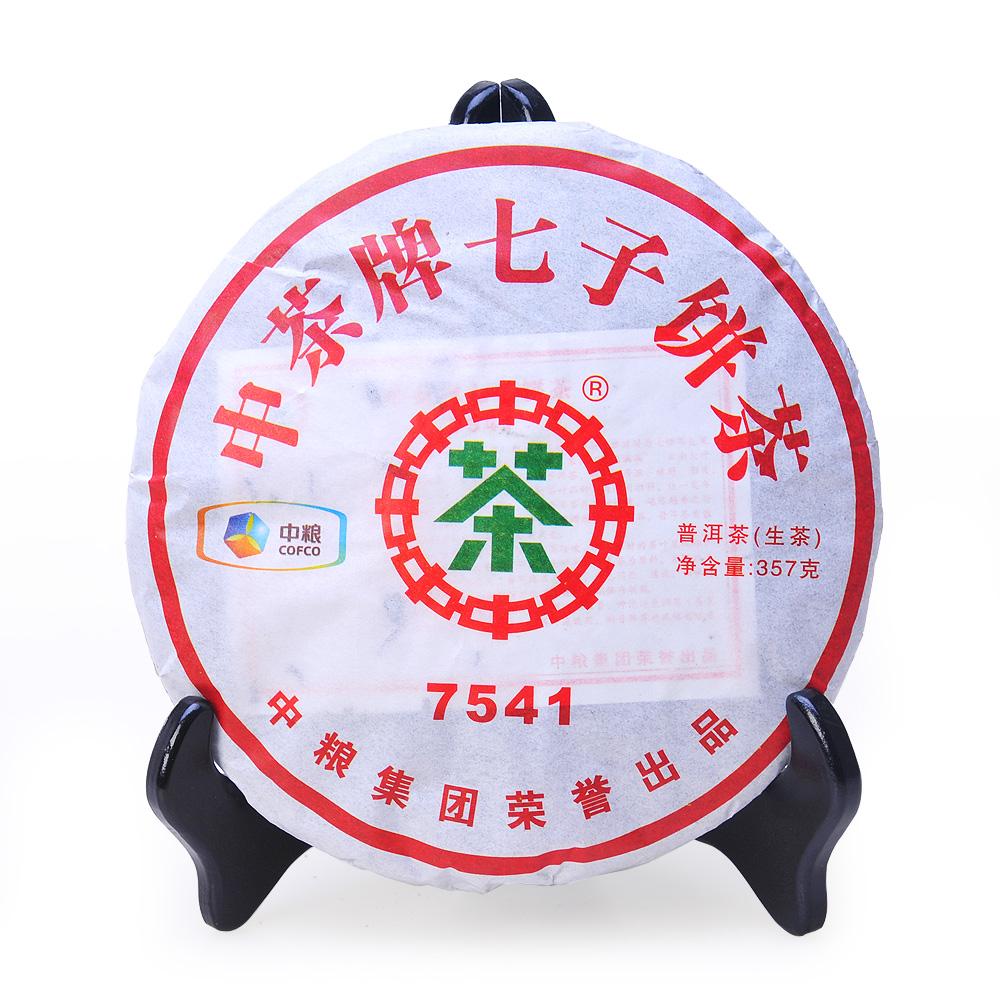 【中茶】2011年7541生茶茶饼357g