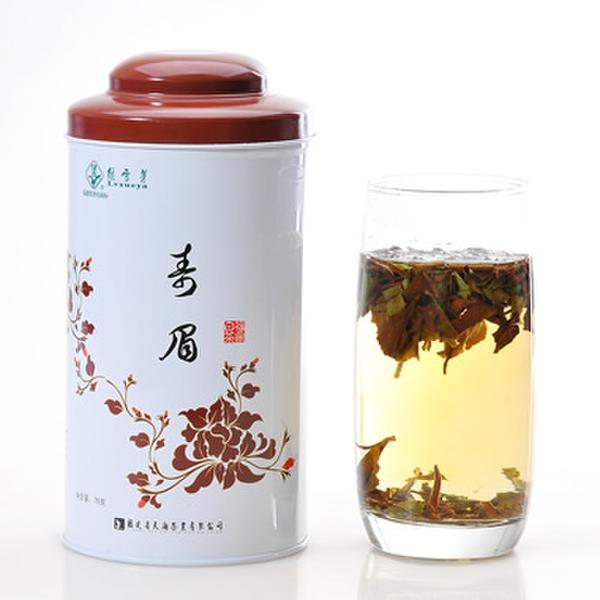 【绿雪芽】特级有机寿眉白茶青花盒75g