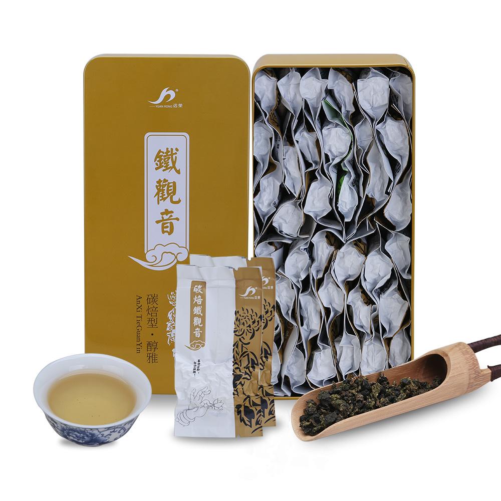 【远荣】特级醇雅碳焙铁观音礼罐装250g--菊