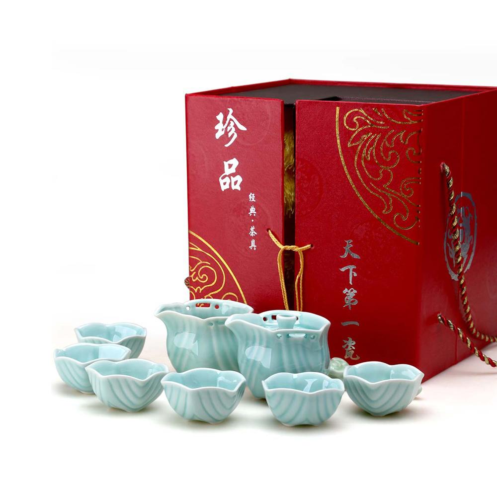 【宏远达】德化六角纹茶具8件套精美礼盒1_0