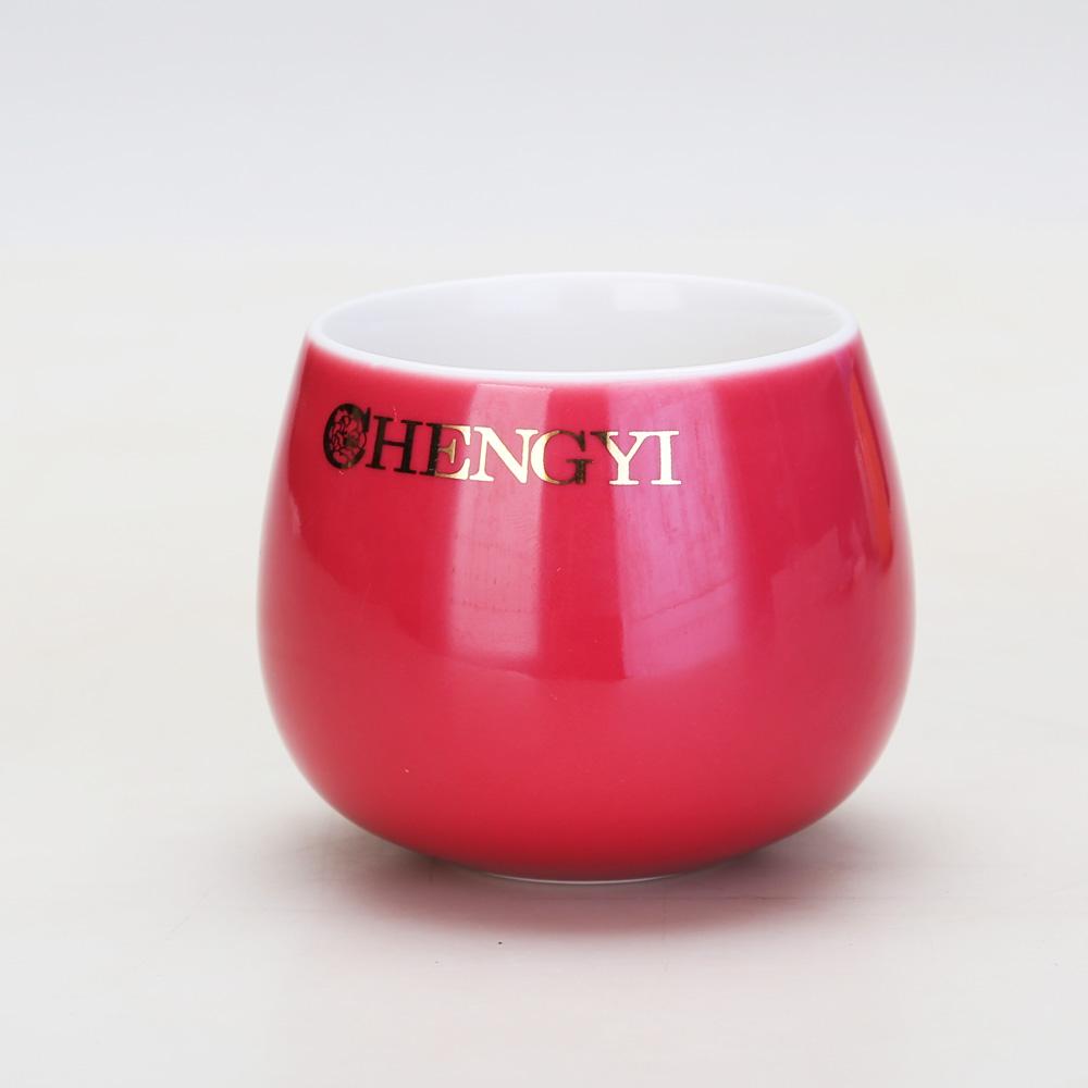 【成艺】精选茶具 德化陶瓷茶具 韵灰神气壶7入 功夫茶具礼盒5_4