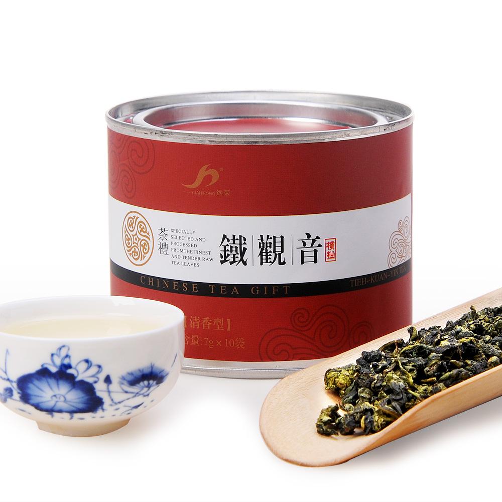 【远荣】特级朴拙清香型铁观音红色圆罐70g1_0